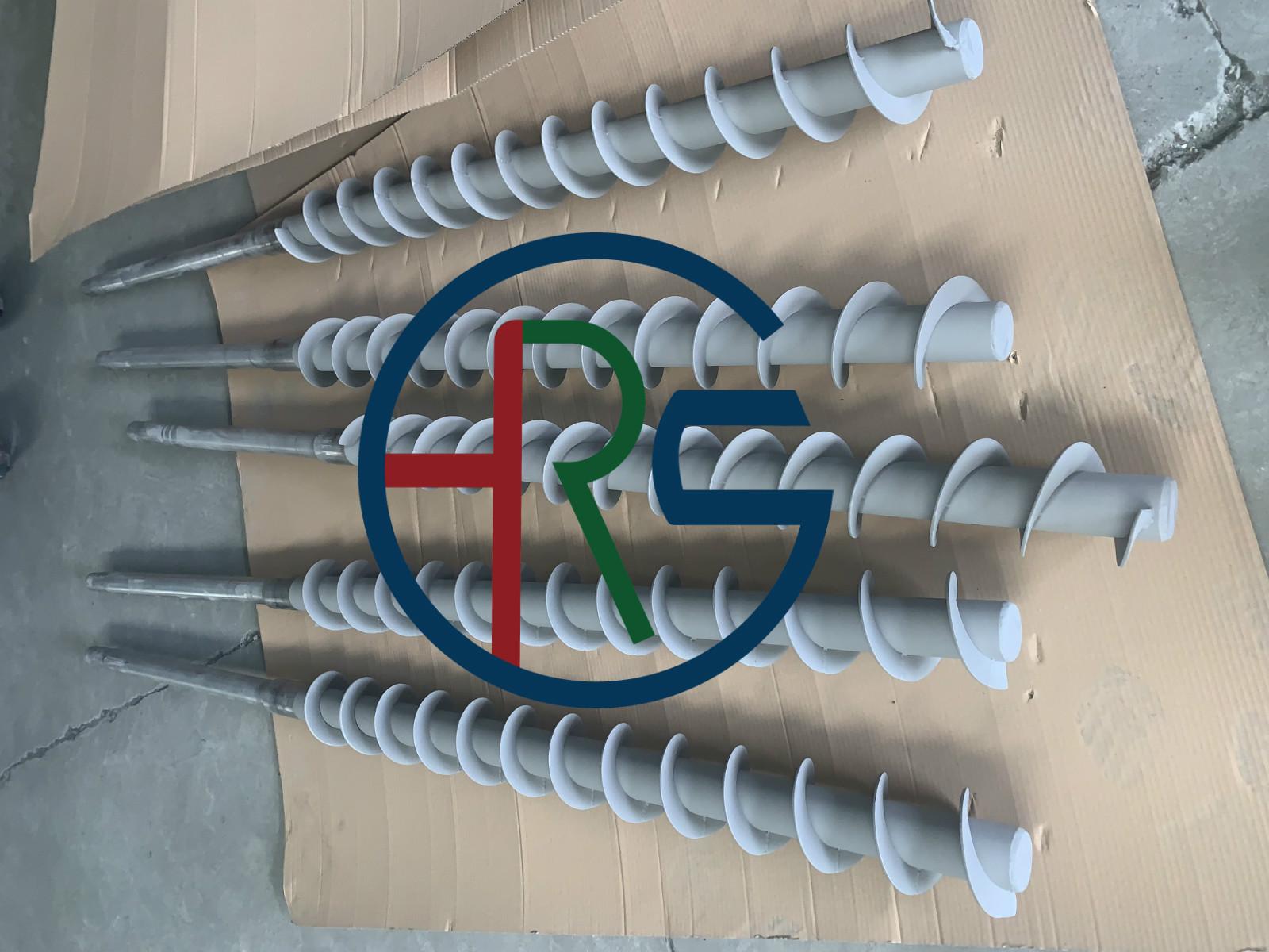 绞龙螺旋轴加工碳化钨喷涂