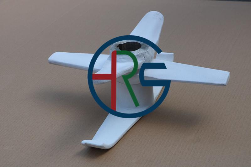 正极材料高速混合机桨叶喷涂陶瓷氧化铝