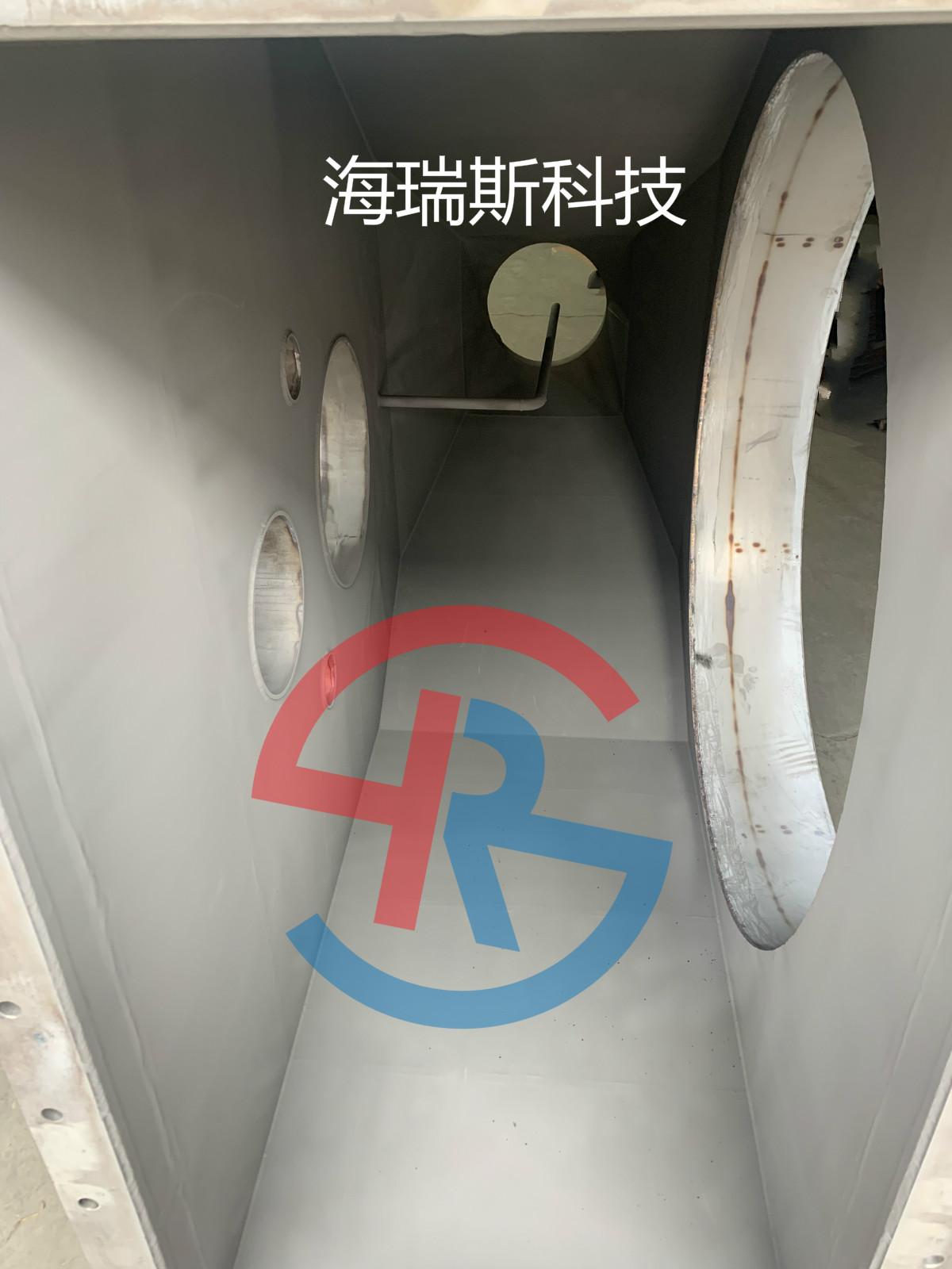 锂电喂料设备喷涂碳化钨耐磨涂层