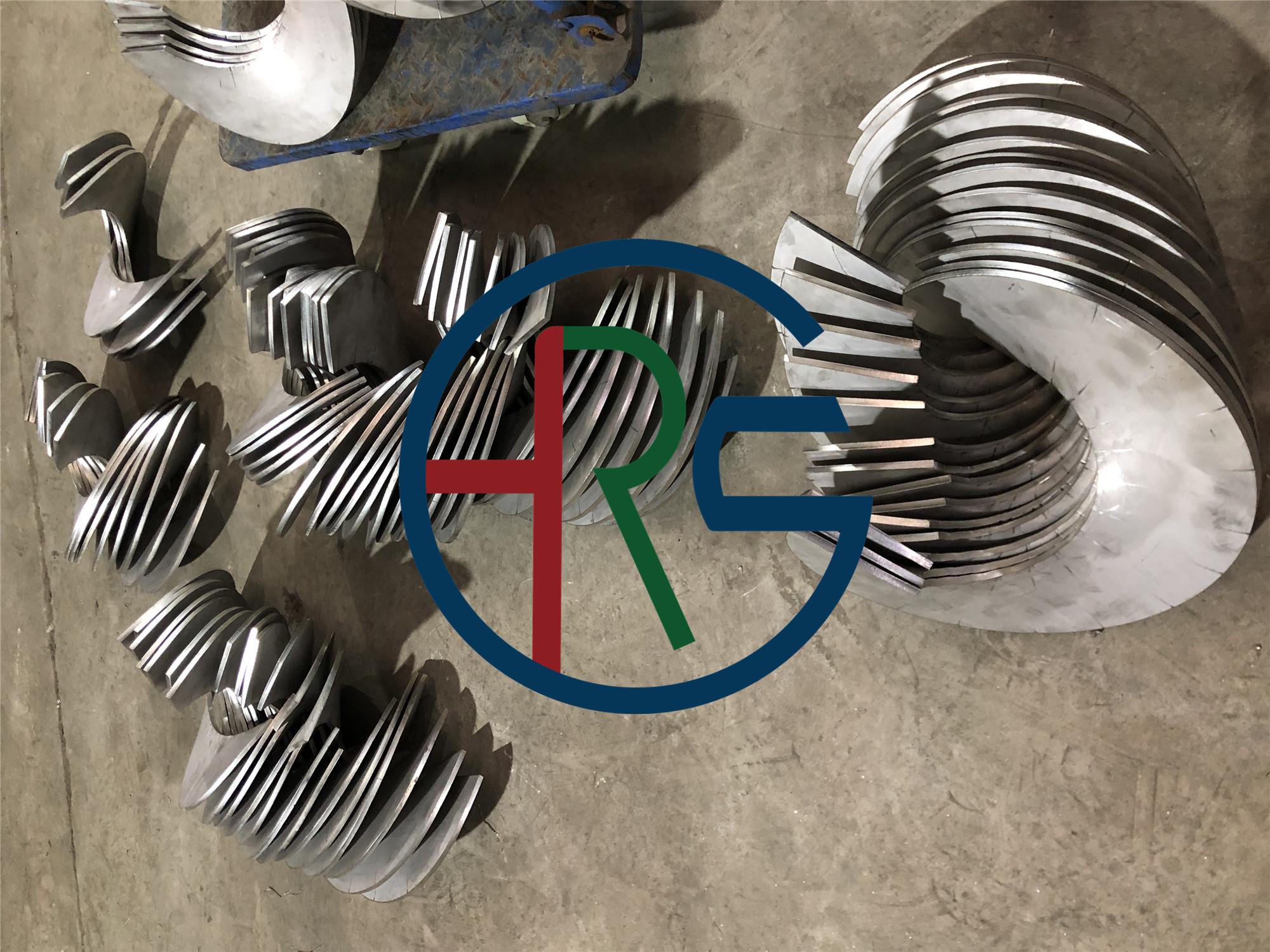 不锈钢螺旋叶片制作