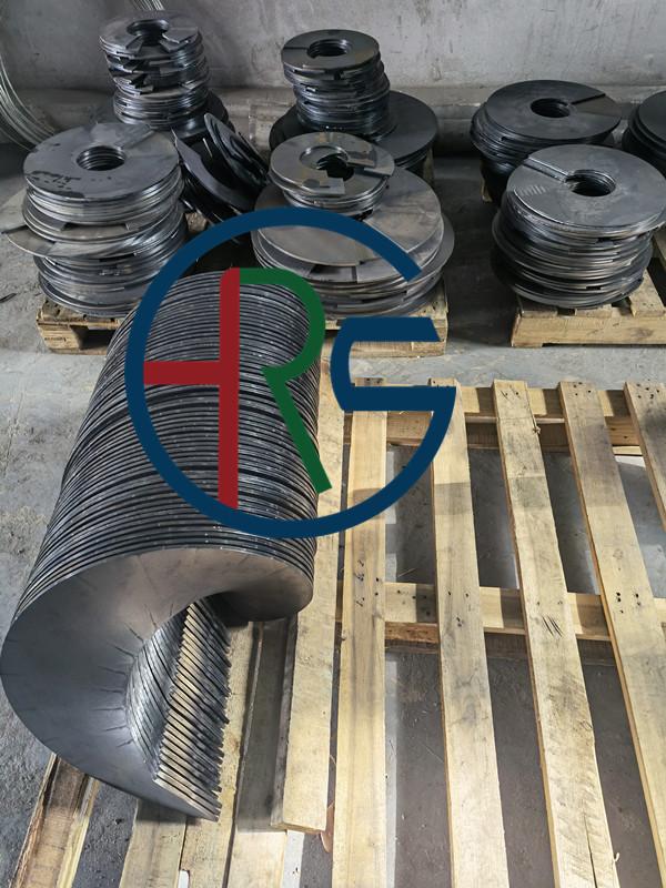 Q345螺旋叶片成型